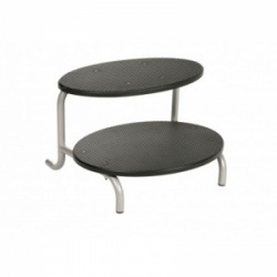 Double-Tier Oval Couch Step for Sunflower Medical Specialist Treatment Couches