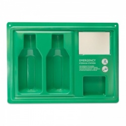 Emergency Eye Wash Station (Empty Case)