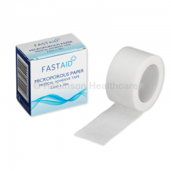 Fast Aid Paper Microporous Tape (2.5cm x 10m)