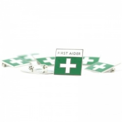 First Aid Enamelled Badges