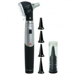 HEINE Mini 3000 LED F.O. Otoscope Set with Batteries