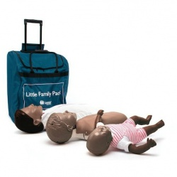 Laerdal Little Family CPR Mannequins with Dark Skin (Pack of 3)