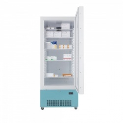 Lec PE1607C Solid-Door Freestanding Pharmacy Refrigerator (444L)