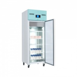 Lec PSR600UK Large Solid-Door Freestanding Pharmacy Refrigerator (600L)