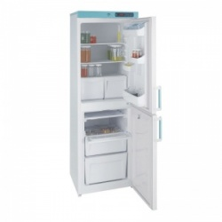Lec LSC263UK Solid-Door Freestanding Laboratory Fridge-Freezer (263L)
