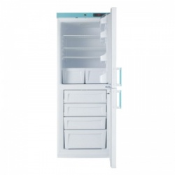 Lec LSC324UK Solid-Door Freestanding Laboratory Fridge-Freezer (324L)
