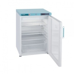 Lec PGRC151UK Glass-Door Under-Counter Pharmacy Refrigerator (151L)
