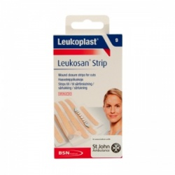 Leukoplast Leukosan Wound Closure Strips (Pack of Nine)