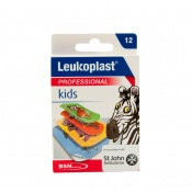 Leukoplast Professional Kids Plasters Assorted Sizes (Pack of 12)