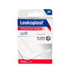 Leukoplast Professional Soft Plasters Assorted Sizes (Pack of 20)