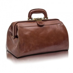 Lockable Compact Elite Leather Doctor's Bag