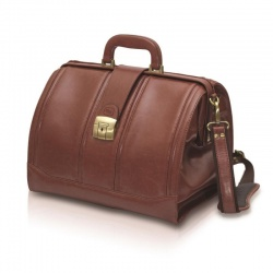 Lockable Traditional Elite Leather Doctor's Bag