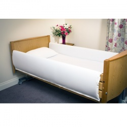 Full-Length MRSA-Resistant Bed Rail Protectors
