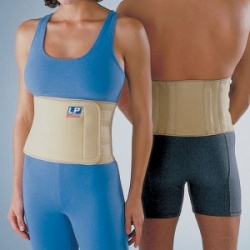 LP Neoprene Back Support with Stays