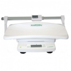 Marsden M-400-80D Portable Baby and Toddler Scale with Digital Height Rod