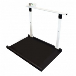 Marsden M-653 Professional Wheelchair Scale with Handrail