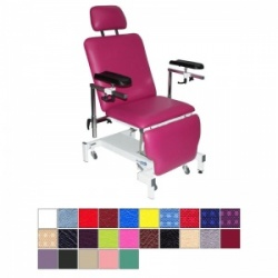 Medi-Plinth Single Column Drop End Phlebotomy Chair