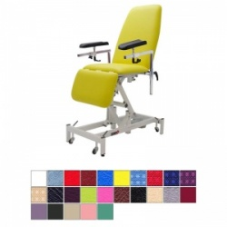 Medi-Plinth Electric Single Leg Phlebotomy Chair