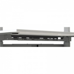 Medi-Plinth Ergo Sit/Stand Smart Workstation Long Upper Cable Tray (Factory Fitted ONLY)