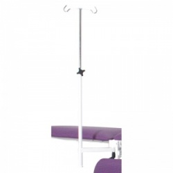 Medi-Plinth IV/Drip Pole And Retractable Arm Accessory (Factory Fitted ONLY)