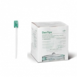 Medline DenTips Dentifrice Treated Oral Swab (Pack of 1000)