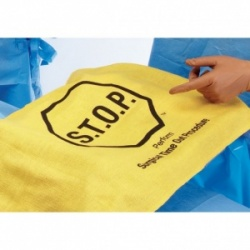 Medline Gold Standard S.T.O.P. Safety Flag (Pack of 40)