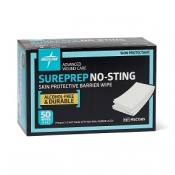 Medline Sureprep Liquid Skin Protectant Wipes (Case of 500 Wipes)