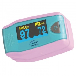 Merlin Medical M-Pulse Paediatric Finger Pulse Oximeter