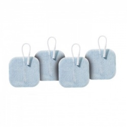 PALS Blue Square Electrodes for Sensitive Skin (Pack of 4)