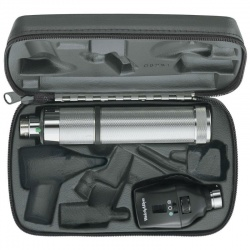 Welch Allyn Coaxial Ophthalmic Set with C-Cell Handle in Hard Case