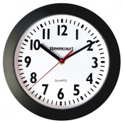 Shatterproof Easy-to-See Quartz Wall Clock (Pack of 5)