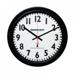 Extra-Large Radio-Controlled Wall Clock (Pack of 5)