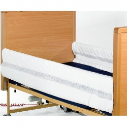 Full-Length MRSA-Resistant Mesh Bed Rail Protectors