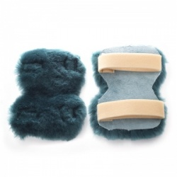 Real Sheepskin Pressure Relief Elbow Protectors (Pair)