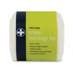 Relicrepe Cotton Crepe Bandages BP