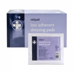 Relipad Sterile Low-Adherent Dressing Pads (Pack of 100)