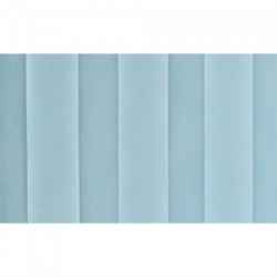Pastel Blue Replacement Curtain for Sunflower Medical Mobile Five-Panel Folding Hospital Ward Curtained Screen