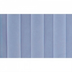 Summer Blue Replacement Curtain for Sunflower Medical Mobile Four-Panel Folding Hospital Ward Curtained Screen