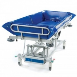 SEERS Medical Adult Electric Shower Trolley