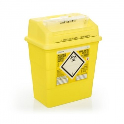 Sharpsafe 13 Litre Protected Access Sharps Container (Pack of 20)