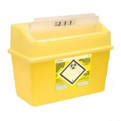 Sharpsafe 24 Litre Protected Access Sharps Container (Pack of 10)