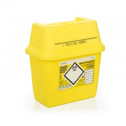 Sharpsafe 3 Litre Sharps Container (Pack of 50)
