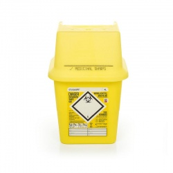 Sharpsafe 4 Litre Sharps Container (Pack of 50)