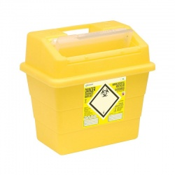 Sharpsafe 9 Litre Protected Access Sharps Containers (Pack of 20)