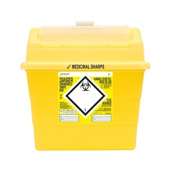 Sharpsafe 9 Litre Sharps Container (Pack of 20)