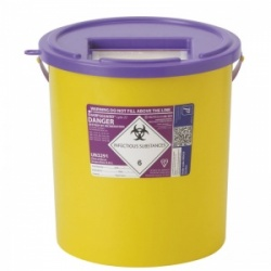 Sharpsguard Cyto 22L Sharps Container for Scotland (Case of 10)