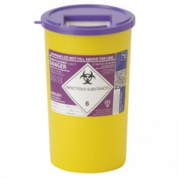 Sharpsguard Cyto 5L Sharps Container for Scotland (Case of 48)
