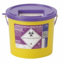 Sharpsguard Cyto 7L Sharps Container (Case of 40)