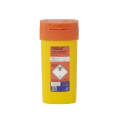 Sharpsguard Orange 0.6L Sharps Container (Case of 48)