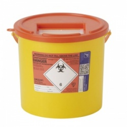 Sharpsguard Orange 11.5L Sharps Container for Scotland (Case of 20)